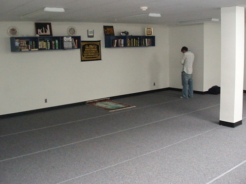 MSA prayer room