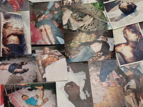 Chechnya atrocities WARNING! DISTURBING PICTURES.